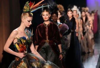 Jean Paul Gaultier Haute Couture Automne Hiver 2011 2012