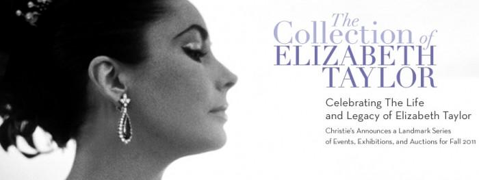 The Collection of Elizabeth Taylor exposée chez Christie's