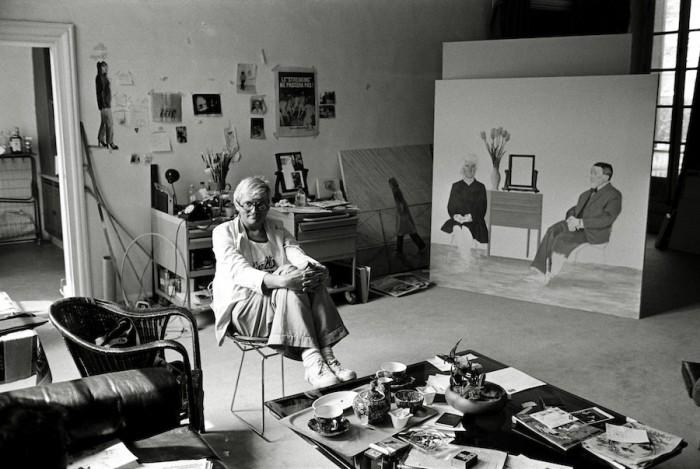 Derek Hudson, le photographe et les créateurs