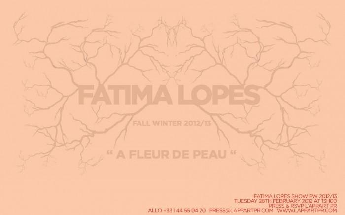 Fatima Lopes FW 2012 – 2013 Countdown