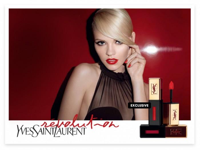 Rouge Pur Couture Vernis à Lèvres par Yves Saint-Laurent