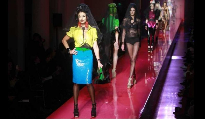 Jean-Paul Gaultier Haute-Couture Printemps Eté 2012