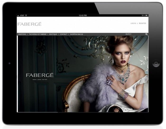 Fabergé lance sa nouvelle boutique en ligne