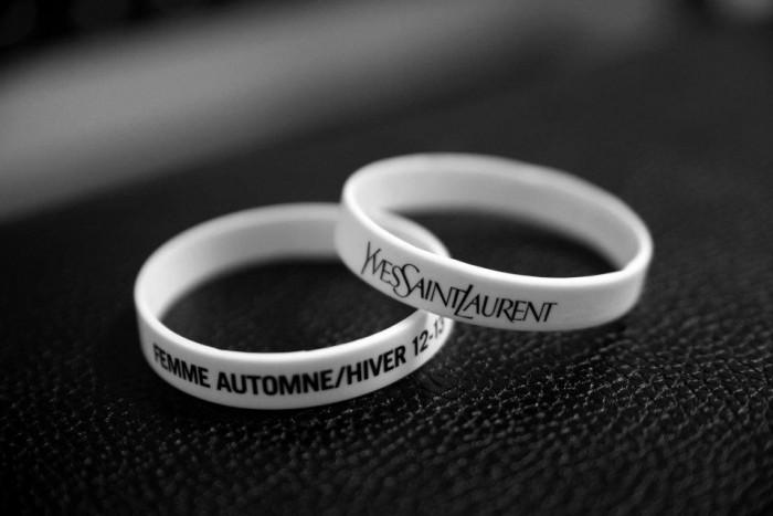 Behind the scenes Yves Saint-Laurent Automne Hiver 2012 – 2013