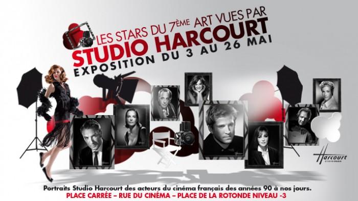 Le Studio Harcourt s'expose au Forum des Halles