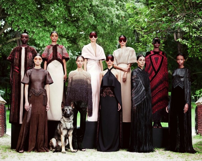 Givenchy Haute-Couture Automne Hiver 2012-2013