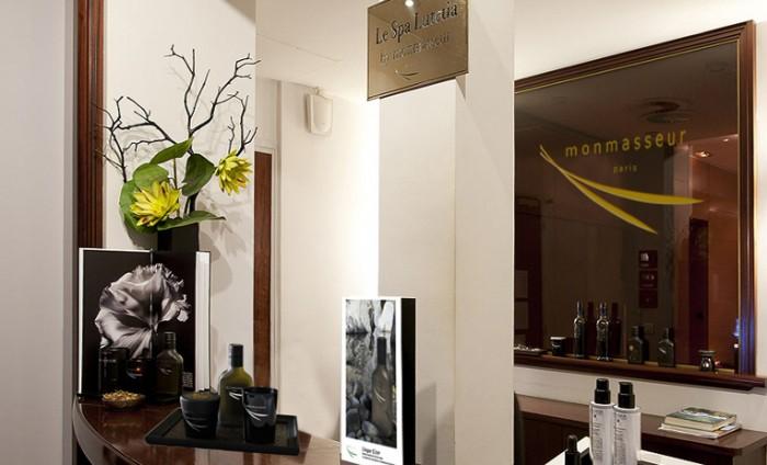 Pause détente au Spa by Monmasseur de l'Hôtel Lutetia Paris
