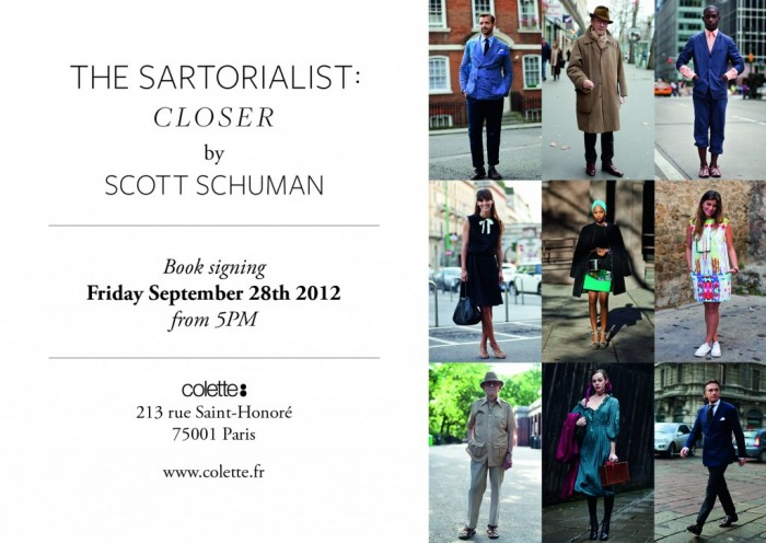 The Sartorialist @ Colette