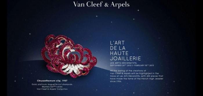 Soirée d'inauguration de l'exposition «Van Cleef & Arpels, l'Art de la Haute Joaillerie»