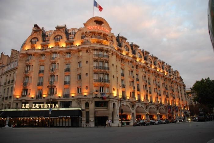 L'Hôtel Lutetia Paris se met aux couleurs du Brésil