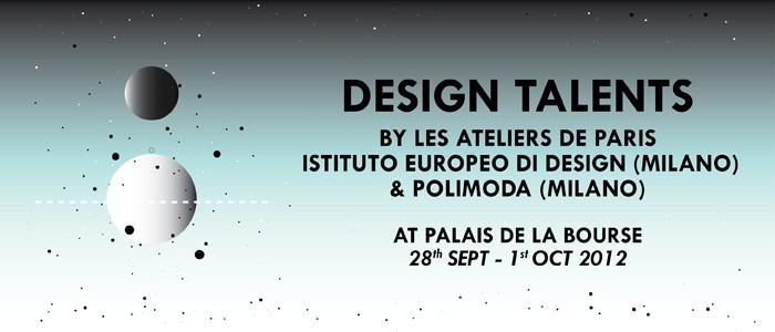L'exposition Design Talents par les Ateliers de Paris