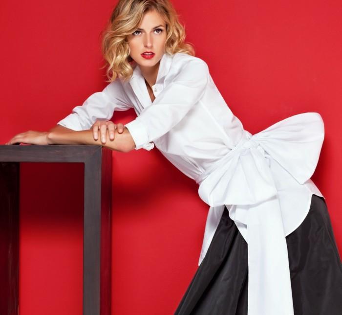 La collection White Shirt de Carolina Herrera