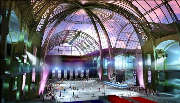 Le Grand Palais des Glaces, la plus grande patinoire de France