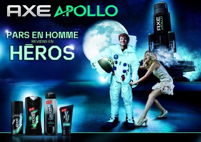 Axe Apollo vous offre un ticket pour l'espace