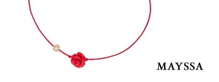 Une rose et un diamant pour une divine St Valentin