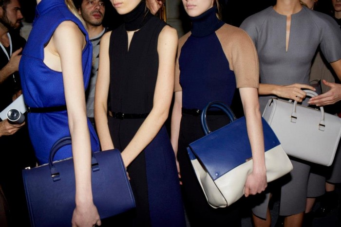 Behind the scenes at Victoria Beckham RTW Fall 2013