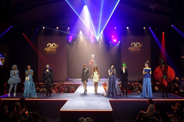 Le défilé de mode de Minnie pour les 20 ans de Disneyland Paris