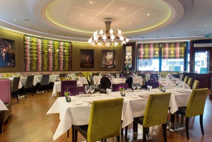 Le dîner oenologique de l'Hôtel Edouard 7