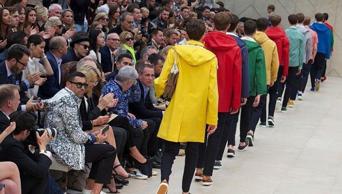 Burberry Prorsum Men Spring 2014