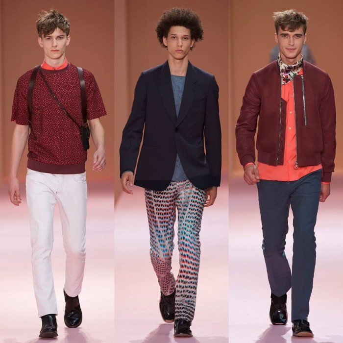 Paul Smith Hommes Printemps Été 2014