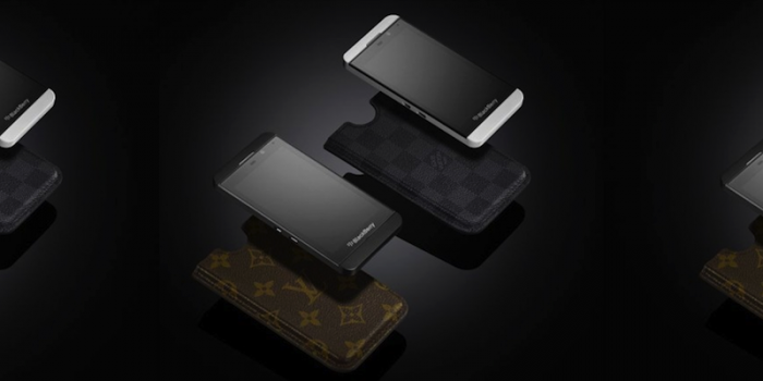 Quand Louis Vuitton rhabille le Blackberry Z10