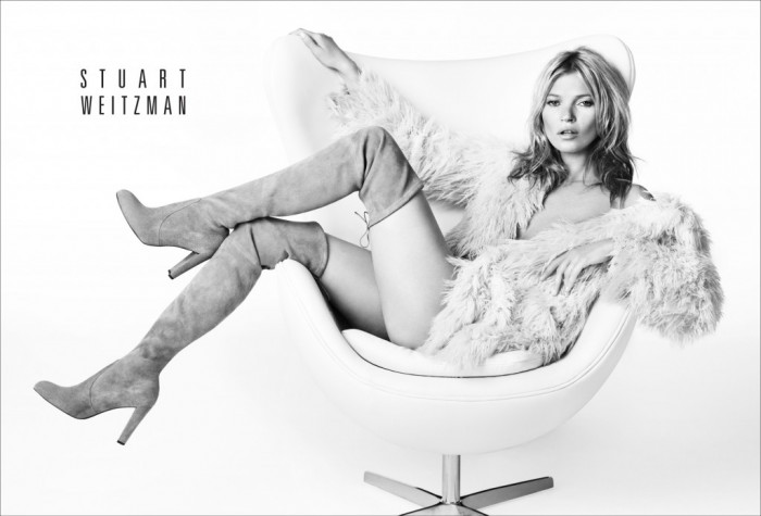 Kate Moss x Stuart Weizman : la campagne Automne-Hiver 2013-2014