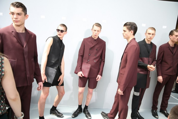 Behind the scenes Dior Homme Spring Summer 2014