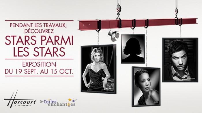 Stars parmi les stars, l'exposition du Studio Harcourt au Forum des Halles