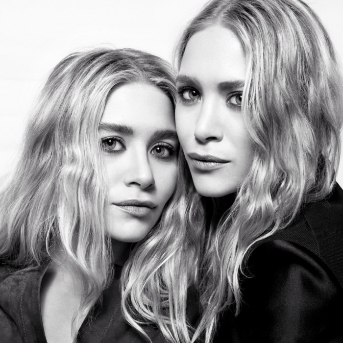 Mary-Kate & Ashley Olsen en couverture de The Edit