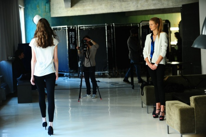 1er shooting photo pour les 12 finalistes Elite Model Look France 2013