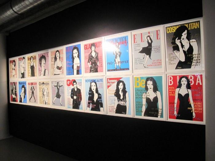 Les Uns et les Unes de Miss.Tic à la Galerie W Montmartre