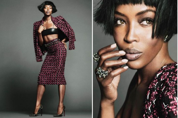 Naomi Campbell, belle et rebelle pour The Edit