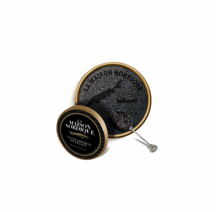 Le Caviar Impérial de France, le caviar de Sologne de la Maison Nordique