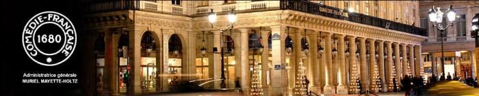 Un Noël rouge et or à la Boutique de la Comédie Française