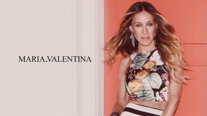 Sarah Jessica Parker égérie Maria.Valentina