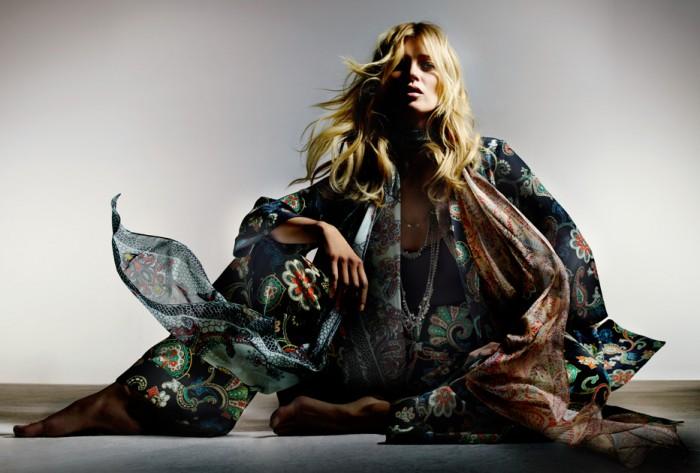 Topshop x Kate Moss la collection capsule aux Galeries Lafayette