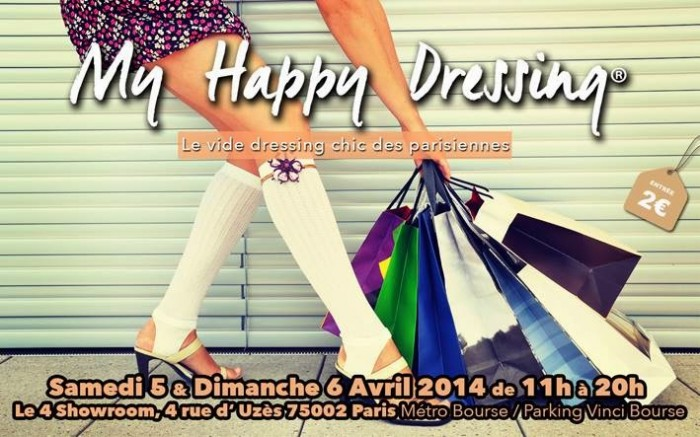 My Happy Dressing, le vide dressing chic des Parisiennes