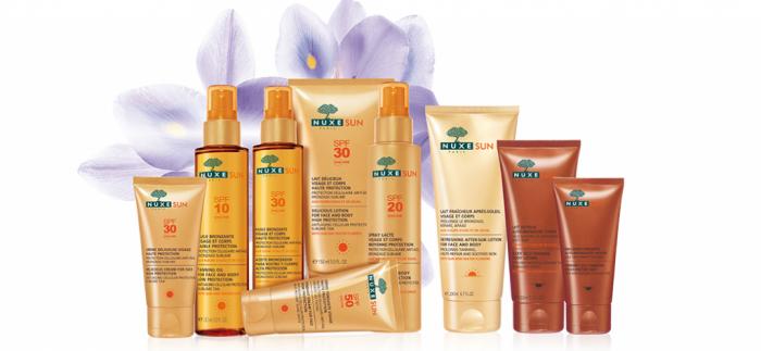 Profitez de l'été avec les nouveaux produits Nuxe Sun