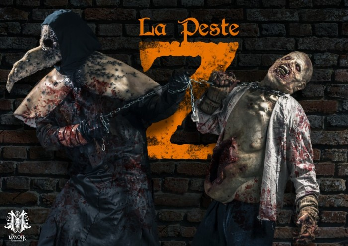 La Peste Z : Halloween 2014 au Manoir de Paris