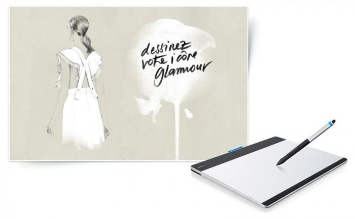 Glamour et Wacom lancent un grand concours d'illustration