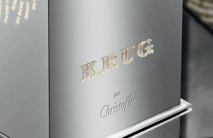 Krug par Christofle, un coffret d'exception