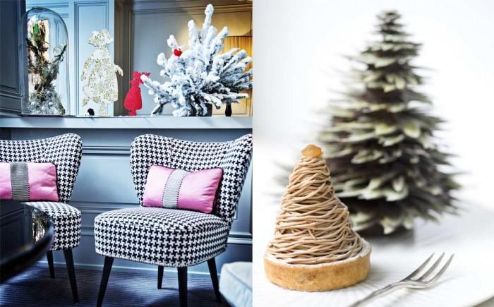 L'Hôtel de Vendôme célèbre Noël avec la Pâtisserie des Rêves
