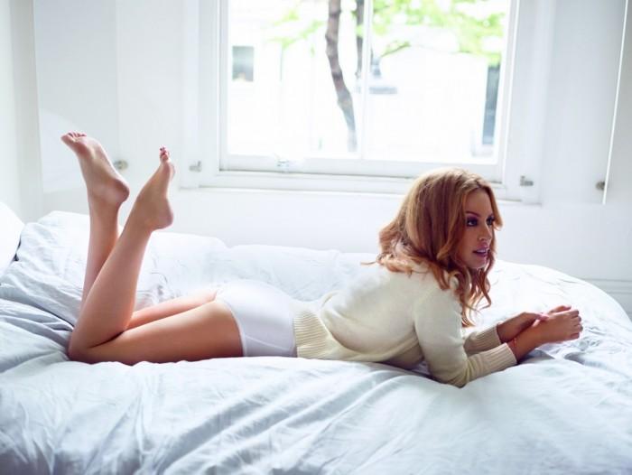 Kylie Minogue, la nouvelle égérie Sloggi