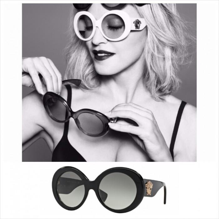Les lunettes Pop Medusa de la Maison Versace