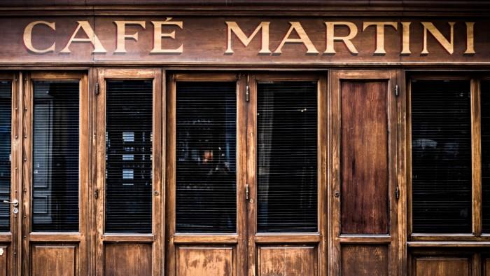 Café Martini, une escale transalpine en plein Paris