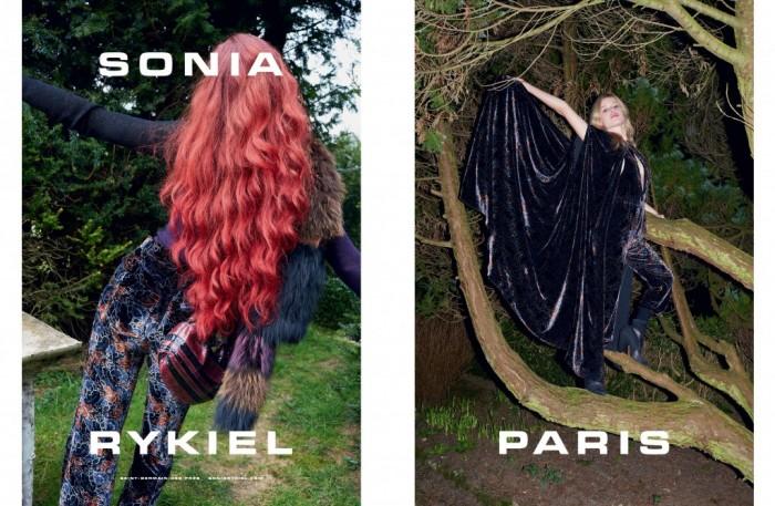 Sonia Rykiel Campagne publicitaire Automne-Hiver 2015