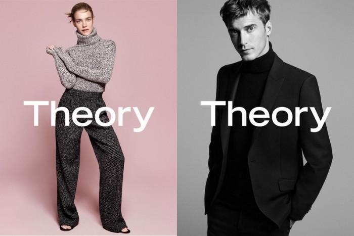 La campagne Automne-Hiver 2015-2016 de Theory