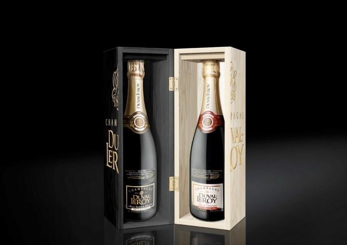 Black and White Christmas avec la Maison de Champagne Duval-Leroy