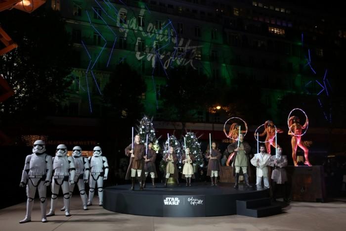 Star Wars : le réveil de la Force aux Galeries Lafayette