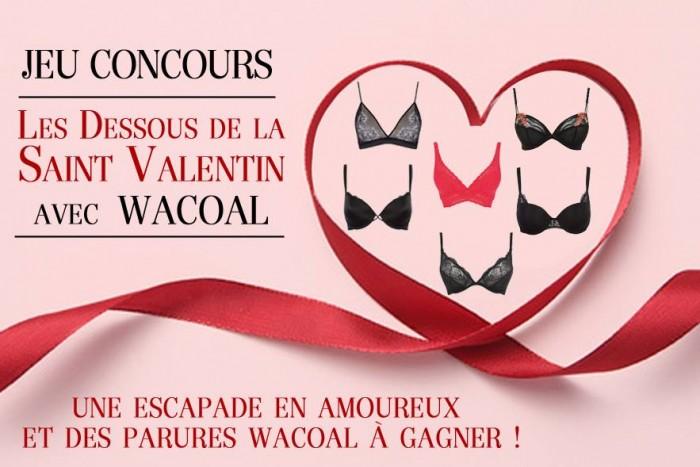 Les dessous de la Saint-Valentin selon Wacoal